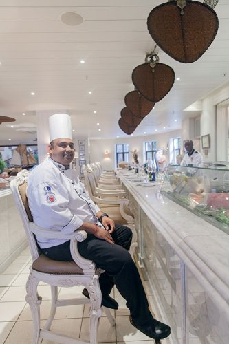 Chef Larry Ramadeen