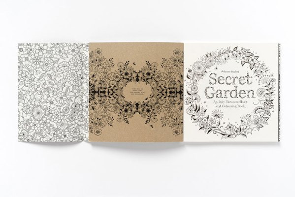 The Secret Garden by Johanna Basford