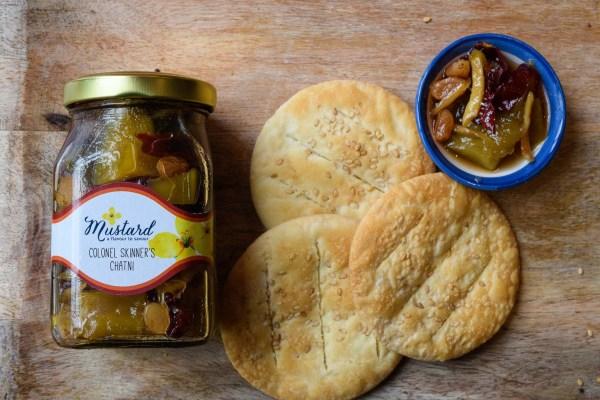 Bengal Mezze Platter served with Baqarkhani roti