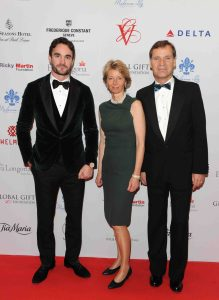 Thom Evans, Aletta and Peter Stas