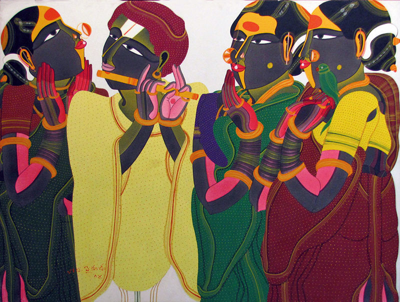 Thota Vaikuntam, Indian Contemporary Artist