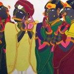 Thota Vaikuntam, Indian Contemporary Artist