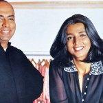 Tarun Tahiliani and Tina Tahiliani Parikh