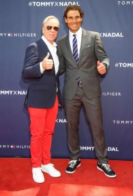 Tommy Hilfiger and Rafael Nadal