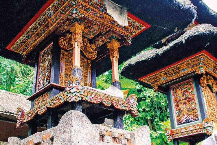 The entrance to a shrine at Gunung Kawi Sebatu temple