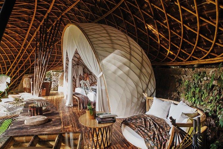 Bambu Indah's Moon House