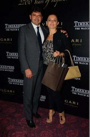 Ugo and Vanessa Carliatani
