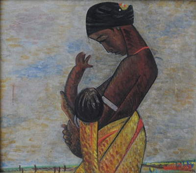 Untitled (Santhal - Mother & Child)