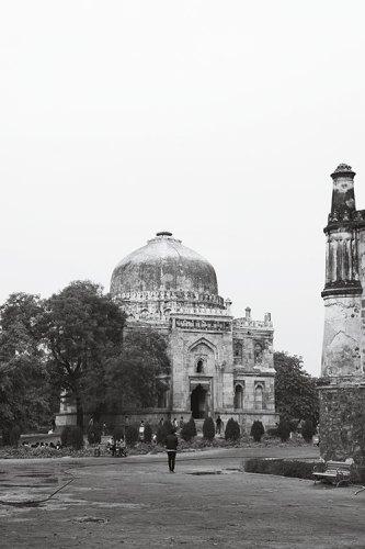 A Tomb in Lodhi Garden