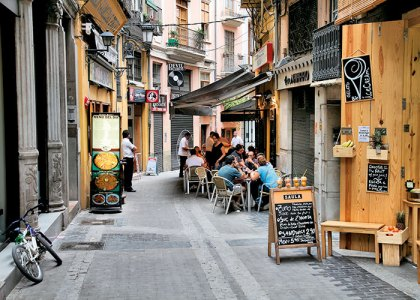 A magical by-lane of Valencia