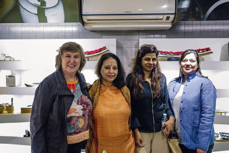 Isabel Sahni, Madhu Khanna, Ritu Gupta, Rachna Malik