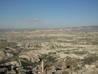 View from the top of Uchisar