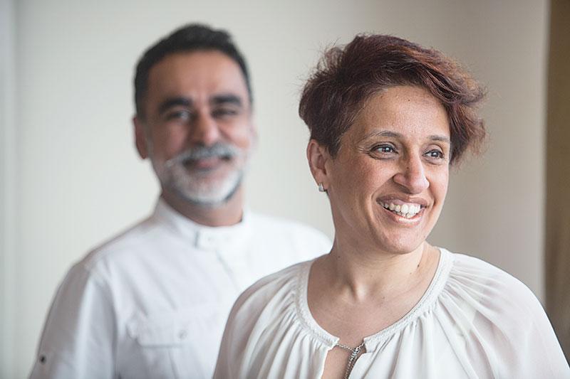Vineet and Rashima Bhatia