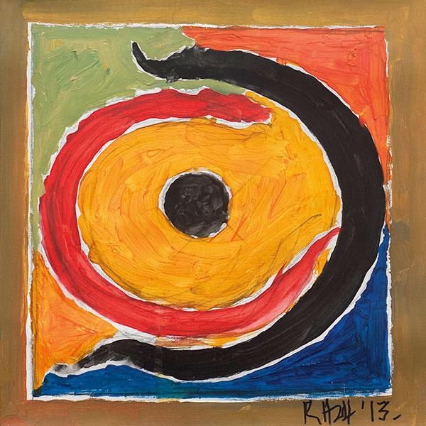Nagas, Acrylic on Canvas