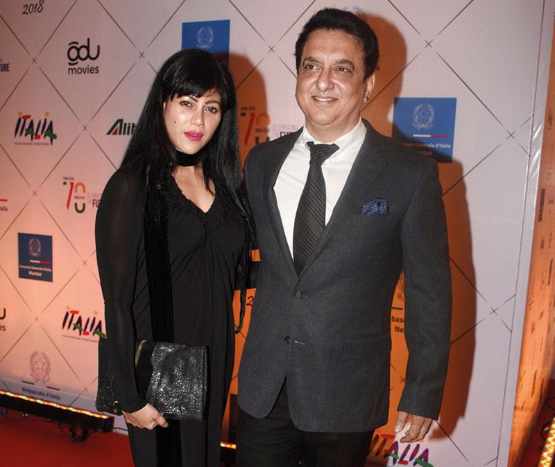 Warda and Sajid Nadiadwala