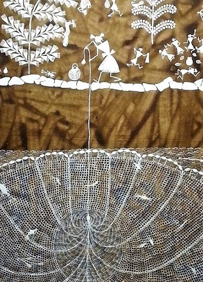 Warli Fishnet