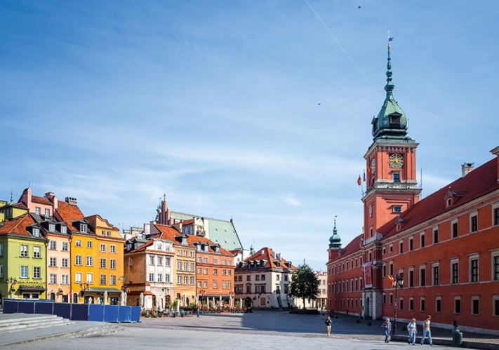 Warsaw is the epitome of picture-perfect charm