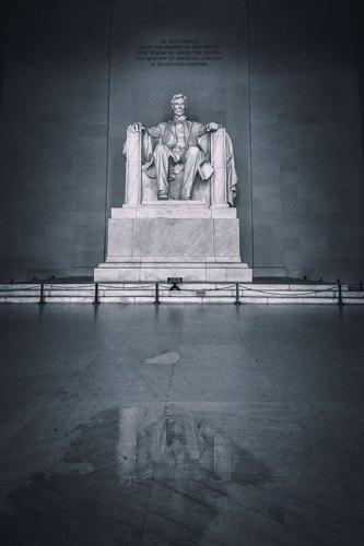 Interior, Lincoln Memorial