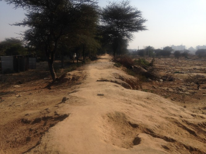 Wazirabad-Chhakarpur Bundh (before)