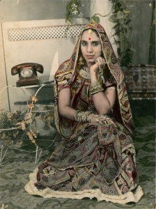 Woman in a Sari, Anonymous