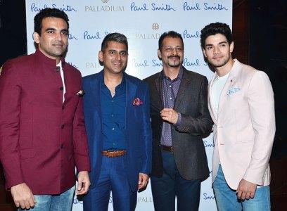 Zaheer Khan, Sanjay Kapoor, Atul Ruia, Sooraj Pancholi