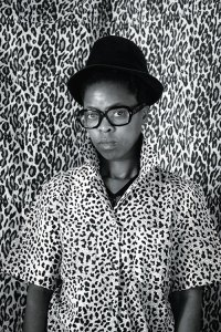 Zanele Muholi, self portrait