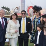 Zavaray and Behroze Poonawalla, Yohan and Michelle Poonawalla at the Poonawalla Races in Mumbai
