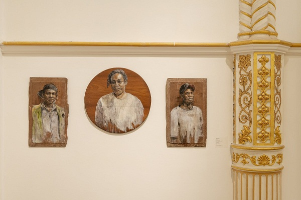 Zico Albaiquni, Preface to Erudition, 2012, Installation View