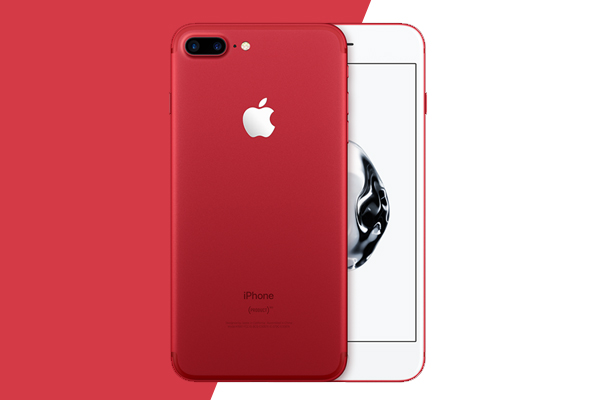 apple, new launches, 2017, i phone 7 , iplone 7 plus product, red