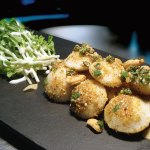 Baby rava idli, flame roast coconut, Madras gunpowder