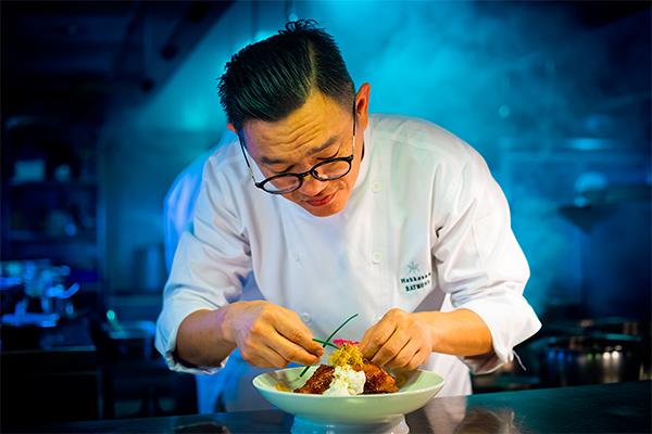 Chef Raymond Wong