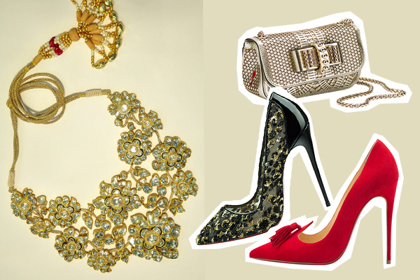 how to wear your jaipur gems, chanel, make up, jewellery, bridal, wedding fashion, christian louboutin, manish, malhotra, michael kors, louis vuitton