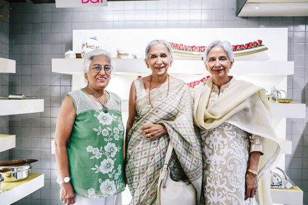 Kumkum Kapur, Asha Oberoi, Anjoo Mehra