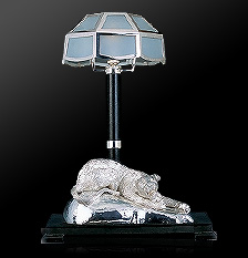 Jaguar lamp from Frazer and Haws