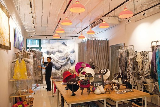 A designer store at PMQ