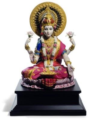 Goddess Saraswati by Lladro