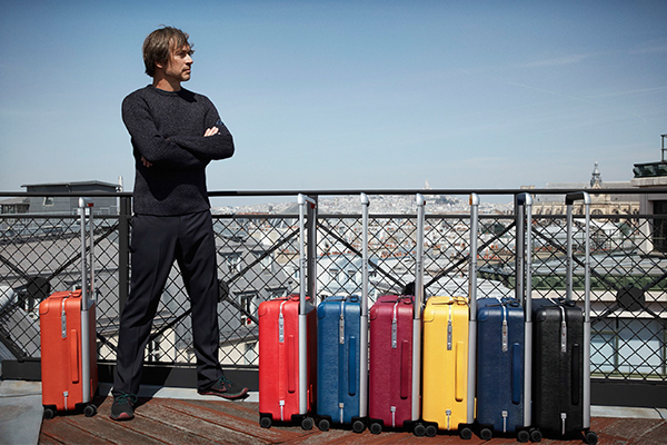 Louis Vuitton, Rolling luggage, Marc Newson