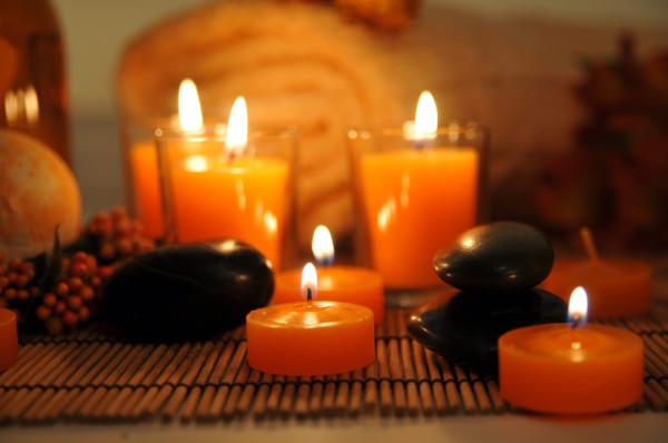 Rituales con las velas Naranjas