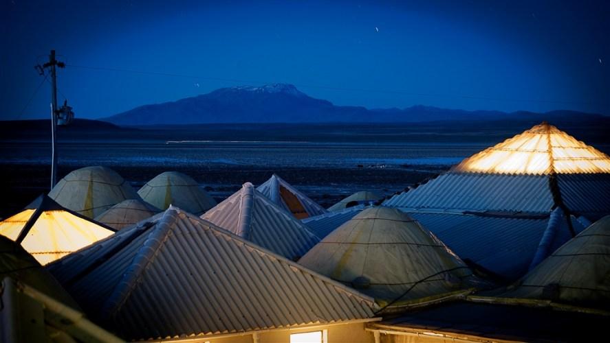 Salar de Uyuni, beyond the hotel