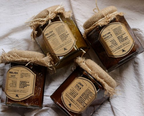 Set of preserves