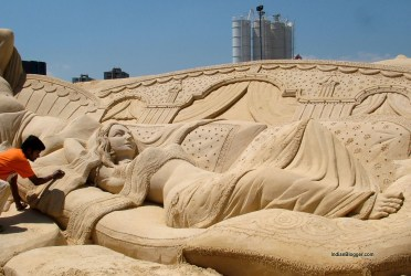International Sand Art Festival, Konark