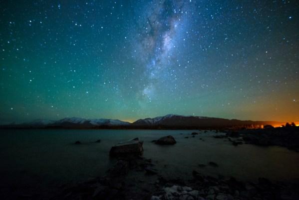 Aurora Australis aka the southern lights
