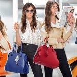 tod's virtuous elevator with elisa Sednaoui and cape bag ad campaign