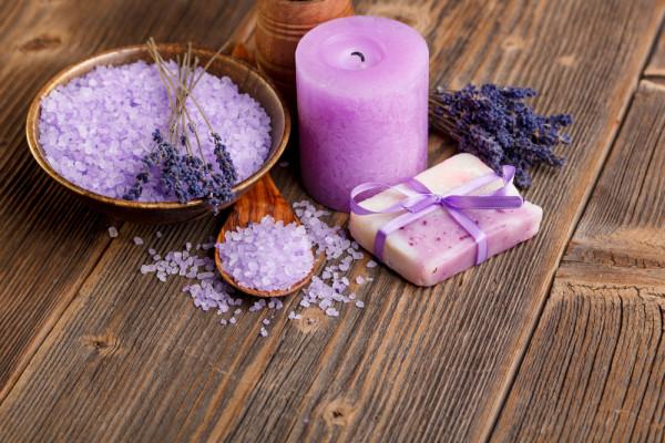 Violet Candles