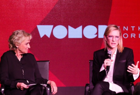 Tina Brown in conversation with Cate Blanchett