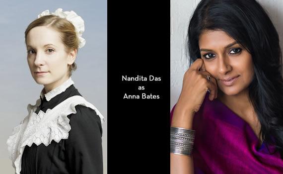Downton Abbey India: Nandita Das as Anna Bates