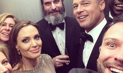 Brad Pitt Angelina Jolie ussie