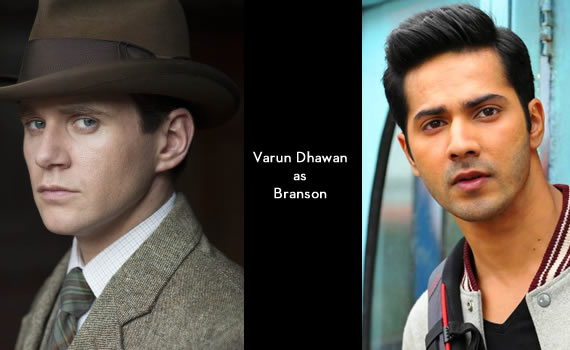 Downton Abbey India: Varun Dhawan as Branson