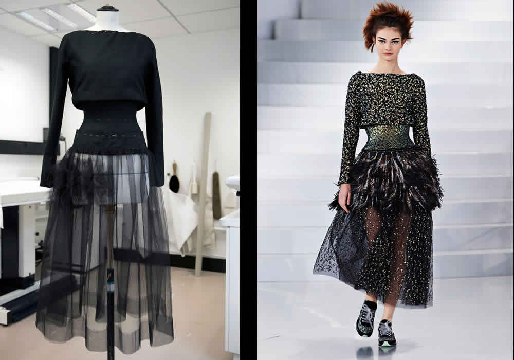 Chanel Haute Couture SS2014 Look Number 47