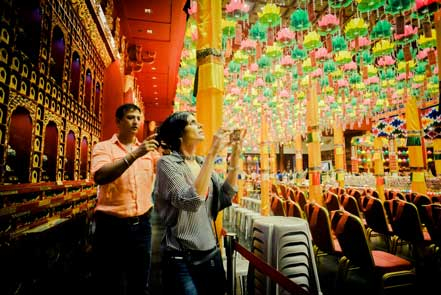 Mandira Bedi: Touching spirituality in the Buddha Tooth Relic Temple